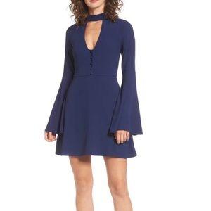 Socialite Dresses - [Socialite] Harper Bell Sleeve Dress